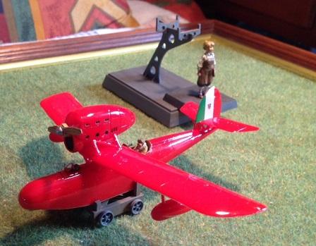 the porcorosso plane
